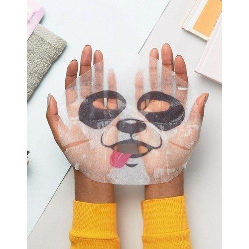 Успокаивающая маска для лица Animasks Face Masks. Panda маска на лицо с черепом