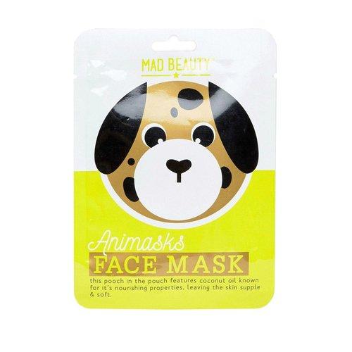 Успокаивающая маска для лица Animasks Face Masks. Dog увлажняющая маска face dog bioaqua увлажняющая маска face dog