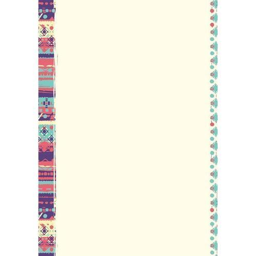"""Сменный блок """"Boho"""", 50 листов, нелинованный, 140 х 200 мм"""