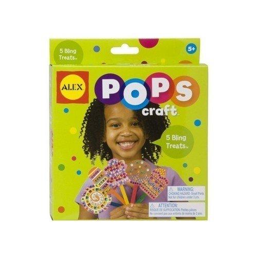 Набор для творчества Укрась 5 леденцов alex набор для творчества pops craft создай 3 блестящих браслета со стразами alex