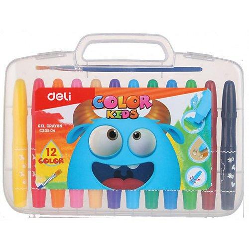 """Гелевые мелки """"Color Kids"""", 12 цветов"""