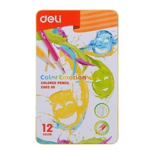 Карандаши цветные Color Emotion mattel карандаши цветные enchantimals 18 цветов