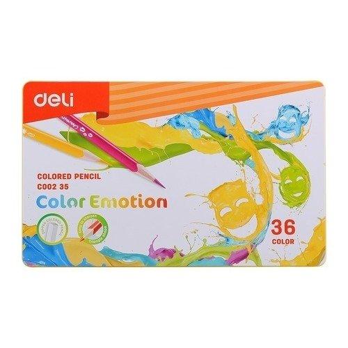 Карандаши цветные Color Emotion карандаши color emotion 36 цветов трехгранные ec00230