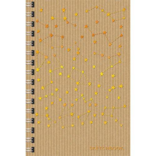 Скетчбук Созвездия А5, 80 листов, 100 г/м2