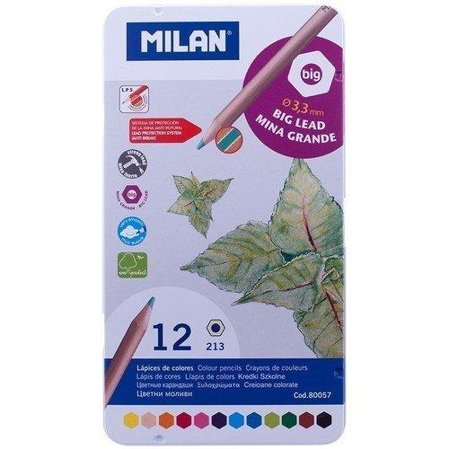 Карандаши цветные, 12 цветов карандаши цветные 12 цветов мonster high длинные в металлическом тубксе с точилкой 85046