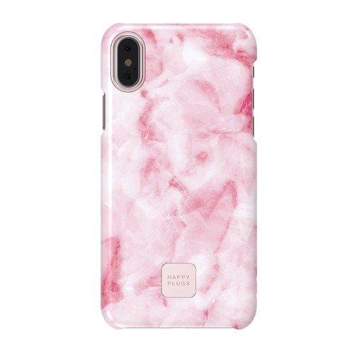 """цена на Защитный чехол для iPhone X """"Slim case"""" Pink Marble, розовый мрамор"""