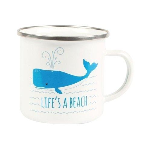 Кружка Life's a Beach кружка бежевая 8х9 8 см