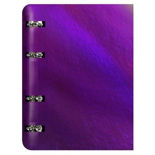 """Тетрадь на кольцах """"Chameleon. Фиолетовый"""" А5"""