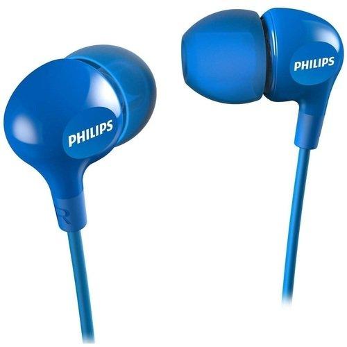 Наушники SHE3550BL/00 наушники philips she3550 3 5 мм вкладыши синий [she3550bl 00]