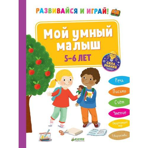 Развивайся и играй! Мой умный малыш. 5-6 лет гаврина с большая книга тестов 5 6 лет мрр