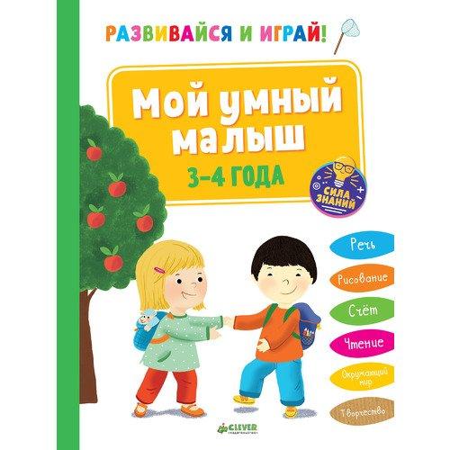 Развивайся и играй! Мой умный малыш. 3-4 года цена в Москве и Питере