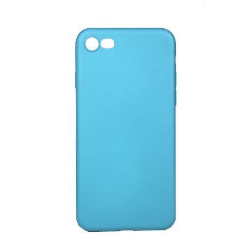 Чехол для iPhone 7/8, голубой чехол для iphone 7 геоцветы