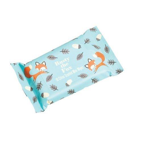 Влажные салфетки Fox, 10 шт. кл влажные салфетки антибактериальные 15шт 30шт 953016