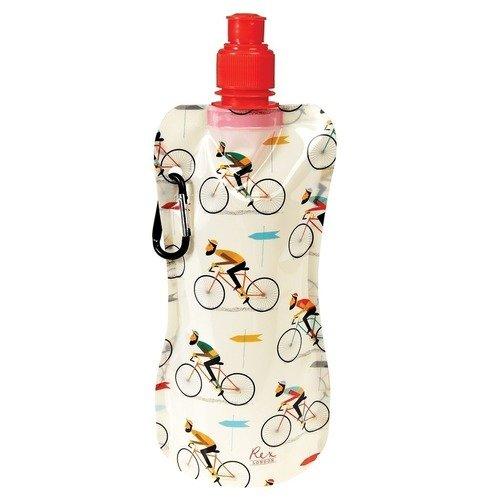 Складная бутылка для воды Le bicycle, 480 мл складная бутылка для воды flamingo bay 480 мл