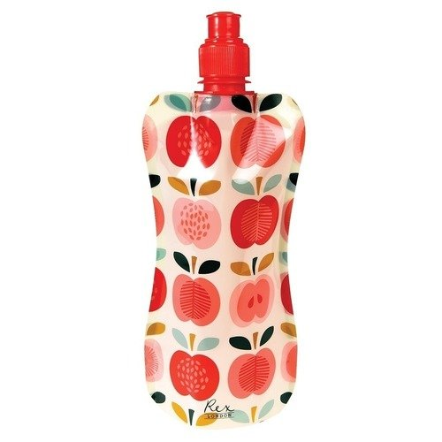 Складная бутылка для воды Apple, 480 мл складная бутылка для воды flamingo bay 480 мл