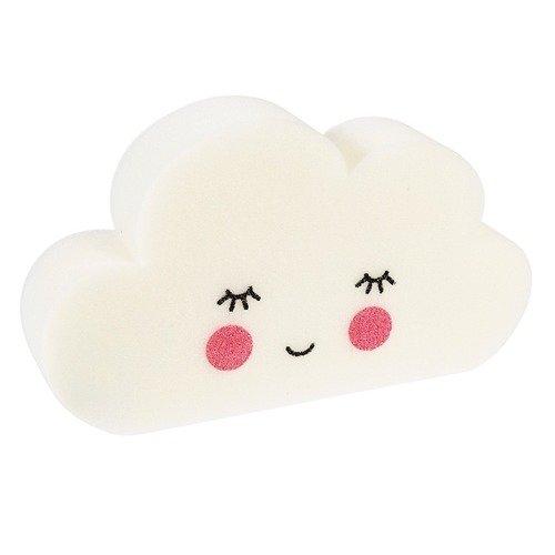 """Губка для ванны """"Happy cloud"""" губка для мытья посуды home queen с металлизированной нитью цвет серебристый 12 х 9 х 2 см"""