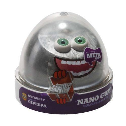 Жвачка для рук Nano gum, эффект серебра, 50 г волшебный мир жвачка для рук nano gum аромат банана