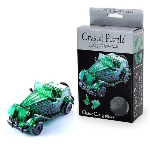 Кристальный 3D-пазл Зеленый автомобиль алан сноу как собрать автомобиль