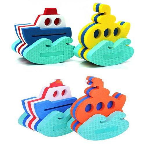 """Набор из 2 игрушек-конструкторов """"Кораблик и подводная лодка"""" octonauts набор фигурок шеллингтон и подводная лодка"""