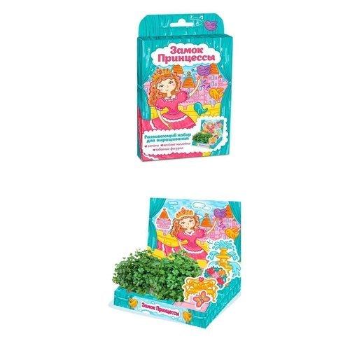 Развивающий набор для выращивания Живая открытка - Замок принцессы растение happy plant ромашка hp 10