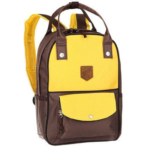 Рюкзак Olimpiada 80 Yellow/Brown Запорожец