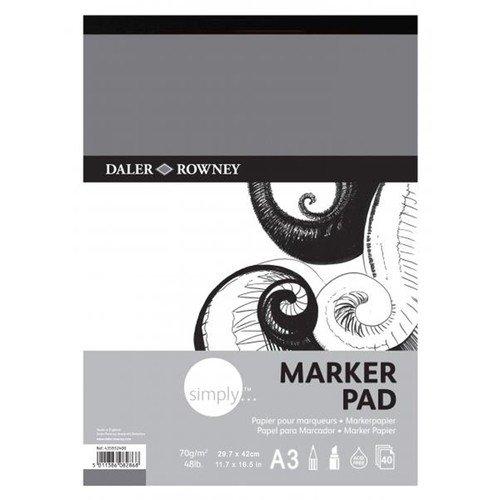 Альбом для маркеров Simply альбом для эскизов палаццо модель 40 листов формат а3