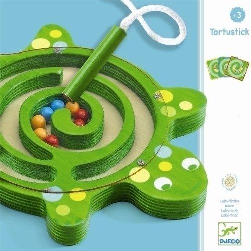 Купить Настольная игра Лабиринт Черепаха , Djeco, Игры для детей