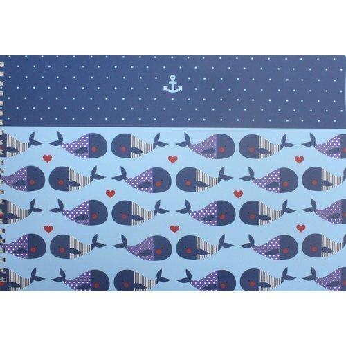 Альбом для рисования Sea, 40 листов, 120 г/м2, 299 х 210 мм альбом для рисования феникс 47110 5 полосатые коты 40 листов