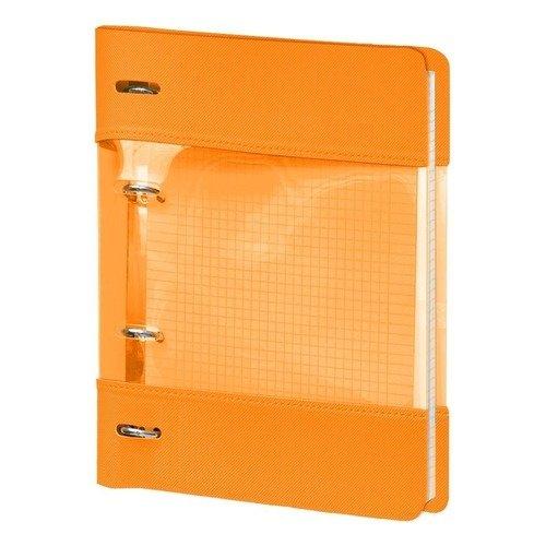 """Тетрадь """"Neon"""", 120 листов, в клетку, 17,5 х 21,2 см, оранжевая"""