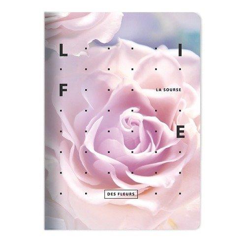 """Тетрадь """"Rose"""", 48 листов, в клетку, 15 х 21 см"""