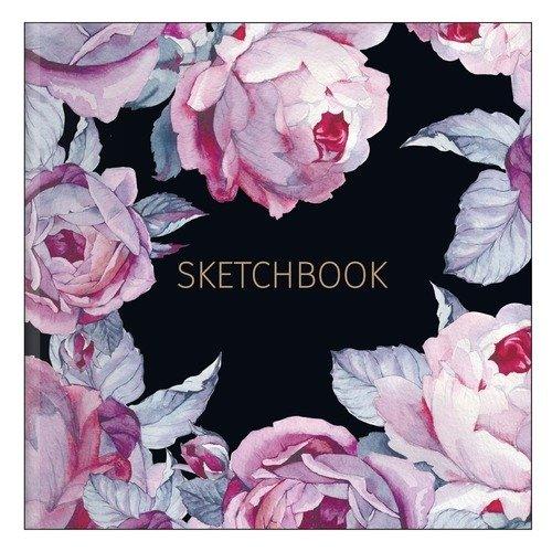"Альбом для рисования ""Bloom"", 40 листов, 170х170 мм"