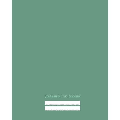 Дневник для средних и старших классов Светло-зеленый, 48 листов дневник для средних и старших классов дневник школьницы дизайн 5 17