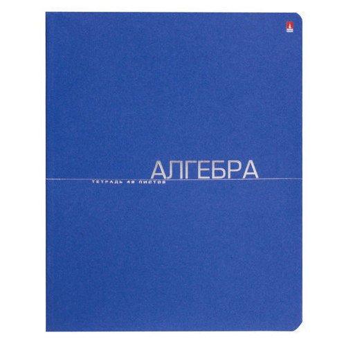 Фото - Тетрадь One Color. Алгебра А5, 48 листов, в клетку тетрадь 96л а5 клетка академия групп серия классика лакированная обложка 7877 3 eac