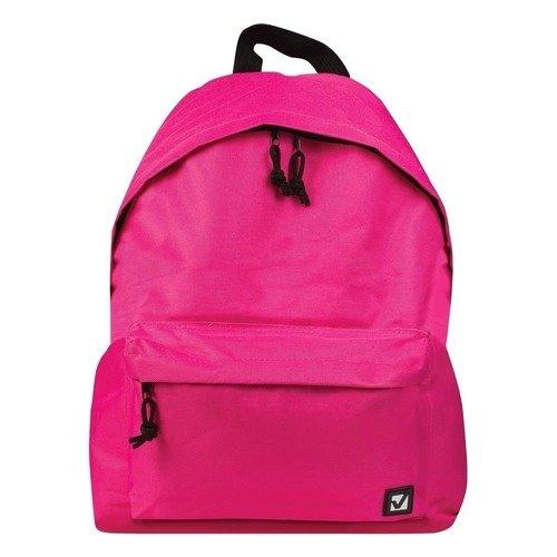 Городской рюкзак, 20 л, 41 х 32 х 14 cм, розовый городской рюкзак deuter futura 20 sl 20 л фиолетовый розовый 34194 3503