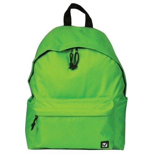 Городской рюкзак, 20 л, 41 х 32 х 14 cм, салатовый
