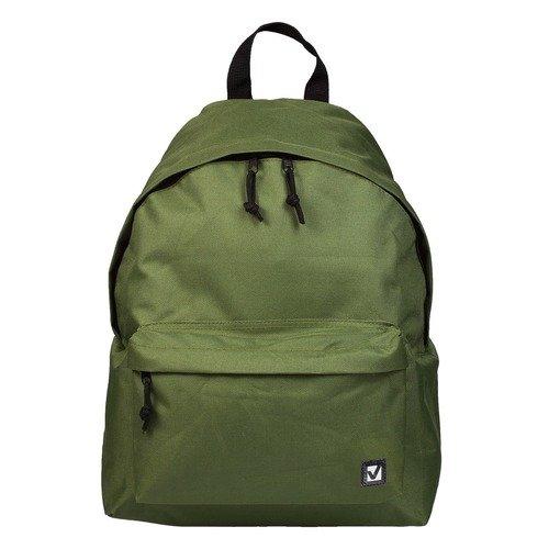 Городской рюкзак, 20 л, 41 х 32 х 14 cм, зеленый