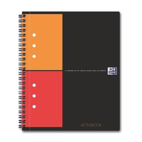 Бизнес-тетрадь International ActiveBook А5+, 80 листов, в клетку, черная ульяновский дом печати тетрадь 80 листов в клетку то 508