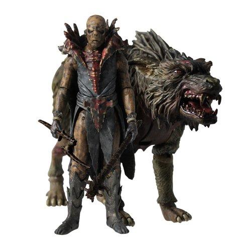 Купить Набор Hobbit: Орк верхом на волке , 10 см, Vivid, Фигурки