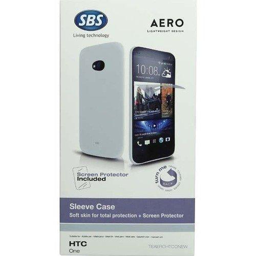 Чехол для HTC One Aero + защитная пленка, белый смартфон htc legend