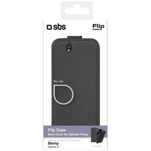 Чехол для Sony Xperia Z Flip Case, черный чехол
