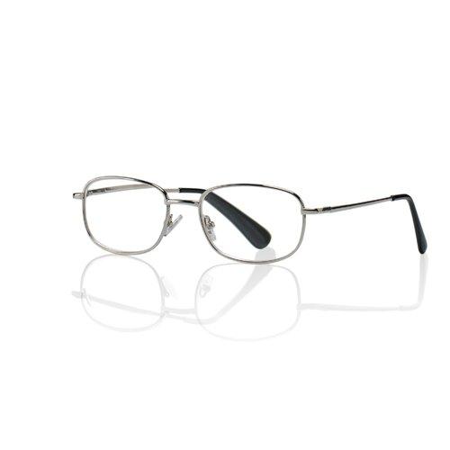 Корригирующие очки для чтения +2,0, круглые
