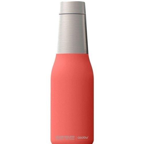 "Термос-бутылка ""Oasis"", 590 мл, розовая бутылка asobu in style pill organizer bottle цвет черный 600 мл"
