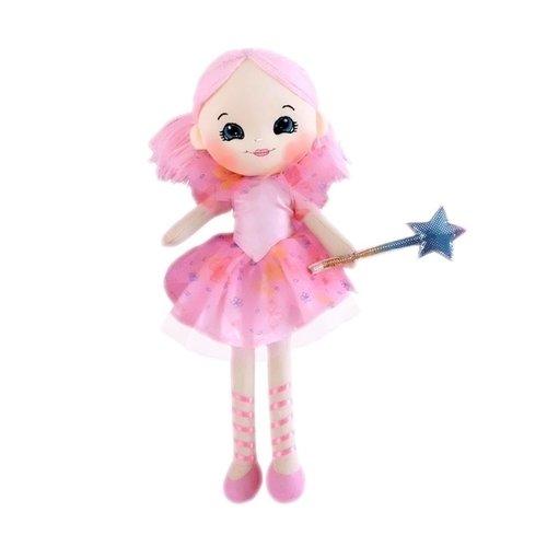 Мягкая кукла Фея с волшебной палочкой, 35 см кронтик в музее история с волшебной палочкой набор картинок