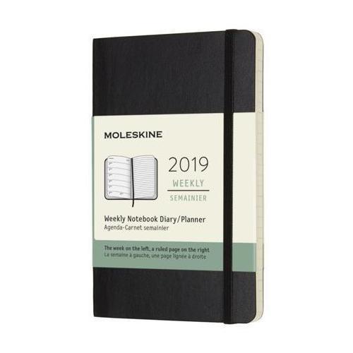 Еженедельник Classic Soft WKNT XL, 190 х 250 мм, 144 страниц, черный еженедельник moleskine classic wknt xl 190х250мм 144стр черный