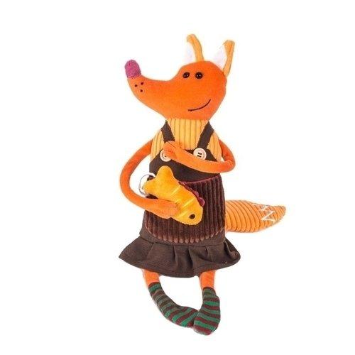 Мягкая игрушка Лисица Елизавета, 21 см мягкая игрушка hansa лисица 53 см 6990