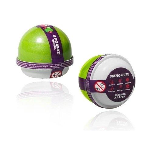 Жвачка для рук Nano Gum, аромат яблока, 25 г жвачка для рук жвачка для рук nanogum жвачка для рук полимер зеленый
