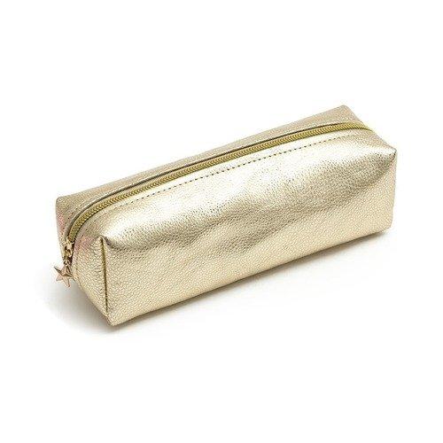 Пенал-косметичка Pencil Case Metalic Light Gold еж стайл пенал косметичка sofia find my story