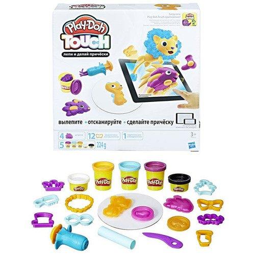 Купить Набор Лепи и делай причёски» (B9018), Play-Doh, Наборы для творчества