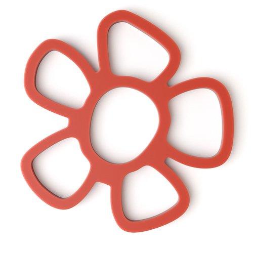 """Подставка под горячее """"Daisy"""", магнитная, красная"""