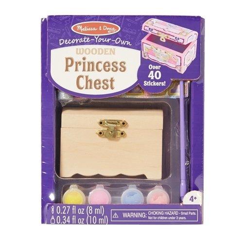 Набор для творчества Создай сундук принцессы наборы для рисования djeco набор со штампами создай историю принцессы